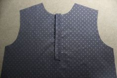 셔츠의 플라켓 봉제 법. : 네이버 블로그 Baby Dress Patterns, Polka Dot Top, Diy And Crafts, Vest, Sewing, Jackets, Tops, Dresses, Blog