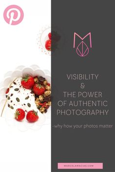 Visibility and the great power of authentic photography - Marcela Macias Photography Great Power, Business Photos, About Me Blog, Marketing, Photography, Photograph, Photo Shoot, Fotografie, Fotografia