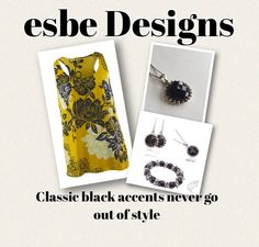 #CaBi clothing for #spring #2015 looks fabulous with #esbedesigns #jewelry. Sable Collection