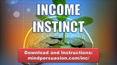 Instructions and Download: http://mindpersuasion.com/inc/  Subliminal Messages:  I have an instinct for money  I can smell money  I can feel money  I can sense money  I…