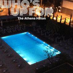 #athens #athenshilton #hiltonhotel #swimmingpool #luxuryhotel #holiday (at Hilton Athens)