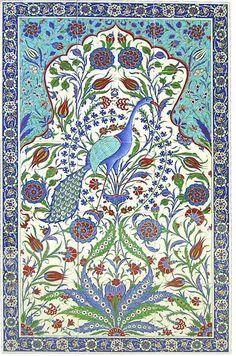 Turkish Art, Turkish Tiles, Portuguese Tiles, Moroccan Tiles, Moroccan Decor, Tile Murals, Tile Art, Mosaic Art, Mosaic Tiles