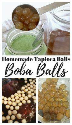 Homemade Tapioca Balls - Boba Balls