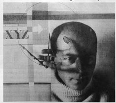 """The Constructor"", by El Lissitzky - self-portrait photo collage,1925."