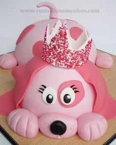 Pink Dog Cake
