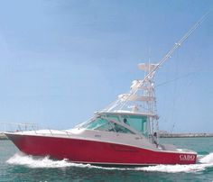 2010 40' Cabo Express with Pipe Welders full tower is pod drive and only has 25 hours on her. She is loaded to the max and the dealer wants her to be the next one sold! http://www.gulfcoasthatteras.com/vessels/893187402-2010-40-cabo-express