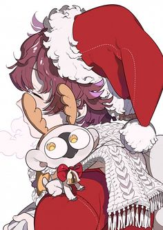 Anime Weihnachten Bilder.330 Best Christmas Anime Images In 2019 Anime Girls Anime Art