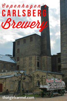 A visit to the Carlsberg Brewery in Copenhagen, Denmark