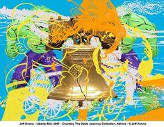 """Jeff Koons """"Liberty Bell"""""""