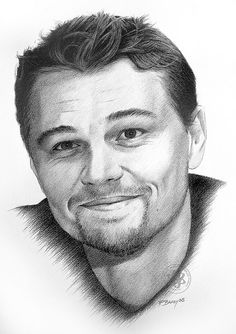 Leonardo DiCaprio by Paul Brady