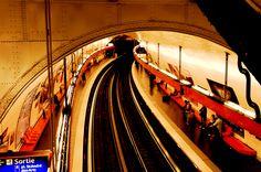 Paris metro station