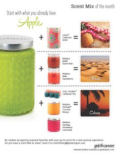 #Gold Canyon Scent mixing-Apple