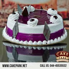 Celebrate a special event with special cakes - #Black Currant, #Black forest, #Fresh #cream cakes are absolutely freshly baked by our Cake shop.  Yummy tasty Black Currant #Fresh #Cream #Cake from Cake park.