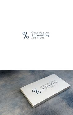 Business card for accounting outsourcing company by SB.D
