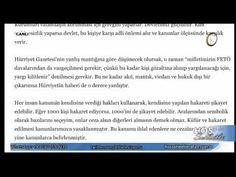 Didem Ürer'den Hürriyet Gazetesine Tekzip