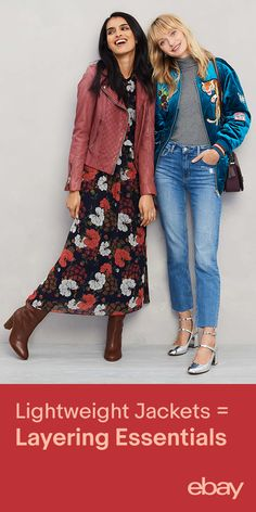 Interesting jackets are the centerpiece of any fall look. Shop jackets on eBay now.