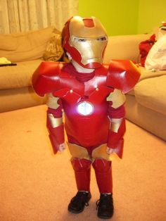 iron man costume out of foam sheets and spray paint & Coolest Homemade Sexy Female Iron Man Costume Idea | Ironman Costume ...