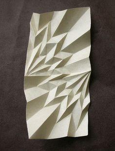 Zenspiration in paper folding: Radial VI - III III MMIX by AndreaRusso, via…