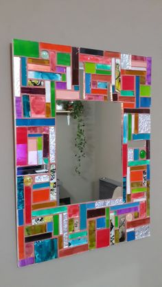 Mosaic Mirrors, Sunburst Mirror, Mosaic Ideas, Mosaics, Amelia, Crafts, Mirrors, Wall Mirrors, Woodworking Projects For Kids