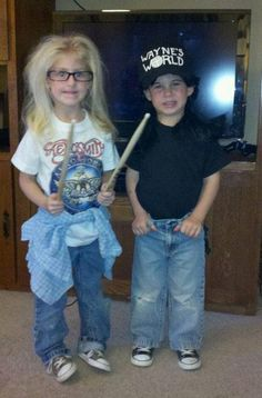 Waynes World---------I should talk the twins into this just for me. I loved this show in college!!!