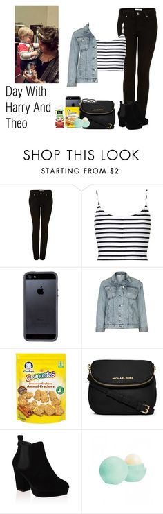 """""""Day With Harry And Theo"""" by the4dipshits ❤ liked on Polyvore featuring Topshop, Tavik Swimwear, Gerber, Michael Kors, Eos and River Island"""