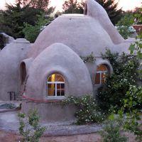 Earth Bag House.