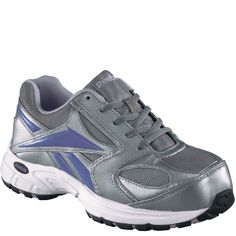 RB448 Reebok Women's Cross Trainer Safety Shoes - Grey