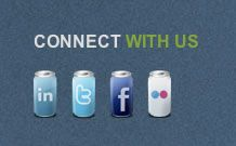 55 Examples of Beautifully Integrated Social Media Links in Web Design