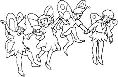 Fairies Coloring Pages (5)