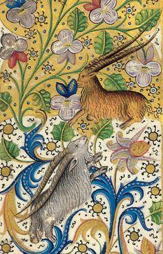 Phoebus - ok. 1407 Medieval World, Medieval Art, Illuminated Letters, Illuminated Manuscript, Medieval Drawings, Esoteric Art, Book Of Hours, Medieval Manuscript, Historical Art