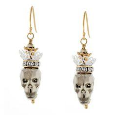 #Skull Queen #Earrings, Main Image