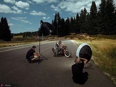 Thank you for sharing this cool BTS with us @ziavey!! Repost @ziavey. ---------- @ziavey: #outdoor #shooting with some awesome #wheels #custom #bike #bts#famousBTSmag#famousbtsmag Added by us: #behindthescenes #onlocation #setlife #photoshoot