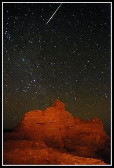 ✯ Meteor at Wupatki Pueblo - about 20 miles outside of Flagstaff, AZ