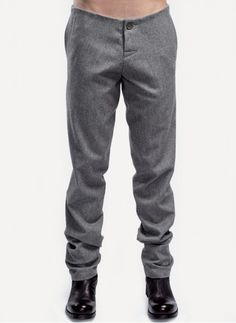 Sruli Recht Fitted Trouser