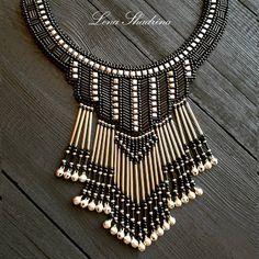 Новое стилизованное ожерелье, сделано на заказ Все мои работы здесь#lenok_shandorka #handmadejewellery #jewelry #этно #этностиль #якутскиеукрашения #якутскиеузоры #сахалыыоһуор #оhуор #стилизация #этника #бисерныеукрашения #ожерелье #biserjewelryykt