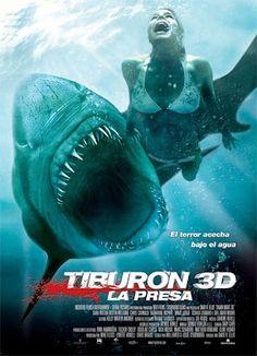 Tiburón 3D, la presa - online 2011