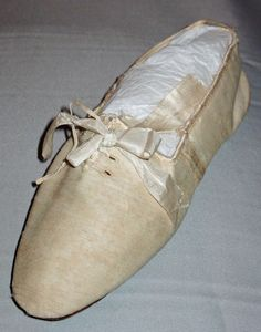 Silk and wool shoes, 1806. Barreto and Lancaster.