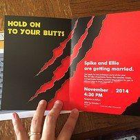 "36 Things Everyone Who Loves ""Jurassic Park"" Will Appreciate: Wedding Invitations!"