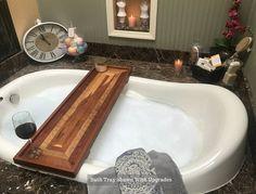 Bath Tray Listing for 28-38 Tubs Bath Caddy / Bathtub