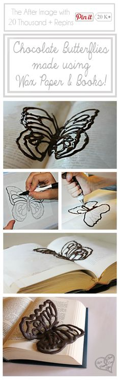 Schoko-Schmetterling