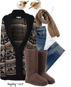 """""""Comfy Cardi"""" by taytay-268 on Polyvore"""