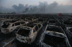 <font><font>Consecuencias de Tianjin explosión parece una película</font></font>