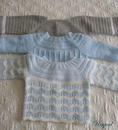 Resultado de imagen para tutoriales chaquetitas bebe