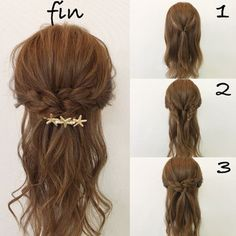 HAIR Hair Beauty, Hairstyles beauty drogeriemakeup Easy Evening Makeup Light Makeup is part of Hair styles - HAAR Haar Beauty, Frisuren beauty drogeriemakeup einfachesabendmakeup leichtesmakeup HAI Medium Hair Styles, Curly Hair Styles, Hair Arrange, Evening Makeup, Pinterest Hair, Pinterest Makeup, Hair Hacks, Hair Lengths, Braided Hairstyles