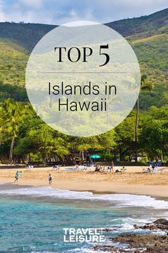 Travel + Leisure ranked Hawaii's islands to find the top Are you planning a trip to Hawaii? Look no further to find your beautiful dream vacation! Best Hawaiian Island, Hawaiian Islands, Vacation Destinations, Dream Vacations, Explore Travel, Top 5, Beautiful Dream, Travel And Leisure, Big Island