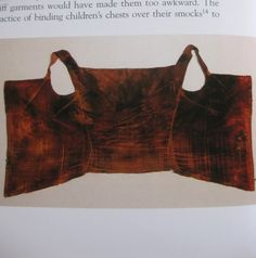 Eleonora's crimson velvet stays after restoration