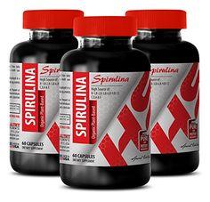 Spirulina supplement  SPIRULINA ORGANIC PLANTBASED 500 MG  strengthen the immune system 3 Bottles >>> Read more  at the image link.