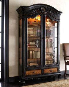 """""""Octavia"""" Bookcase at Neiman Marcus."""