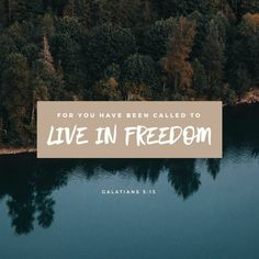 Verse of the Day - Galatians 5:13