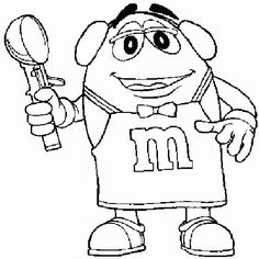430 best M & M things images on Pinterest | Coloring pages for kids ...